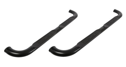 Tubes - 3in Round Black Steel