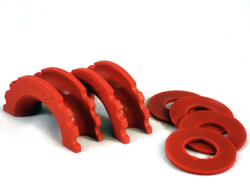 D-Ring Isolator & Washer Red