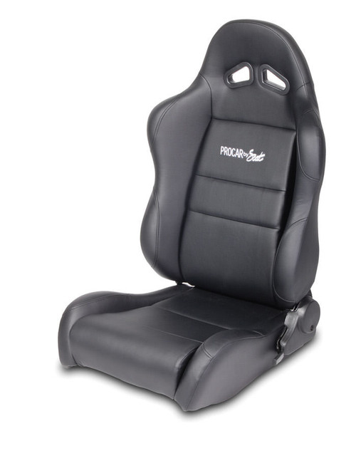 Sportsman Racing Seat - Left - Blk Syn Leather