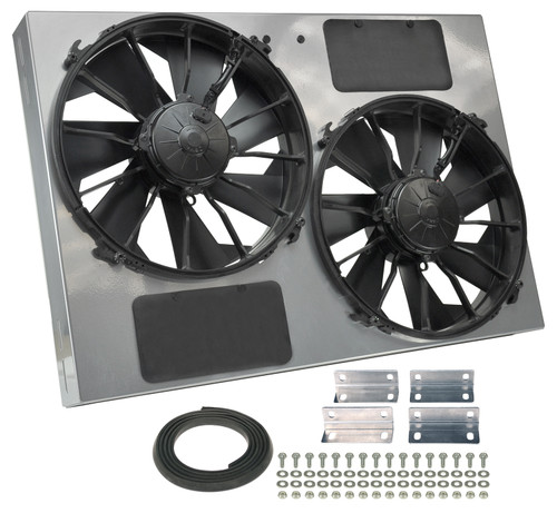 13in Dual High Output RAD Fans Puller