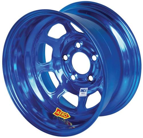 15x8 2in 5.00 Blue Chrome