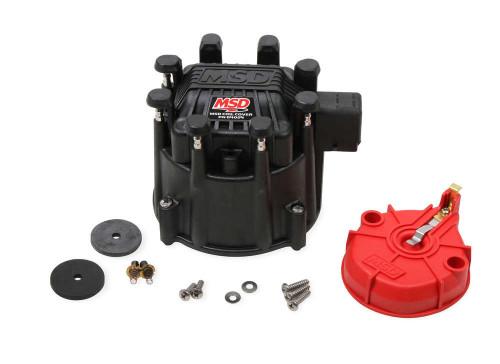Extreme Output GM HEI Cap/Rotor Kit Black