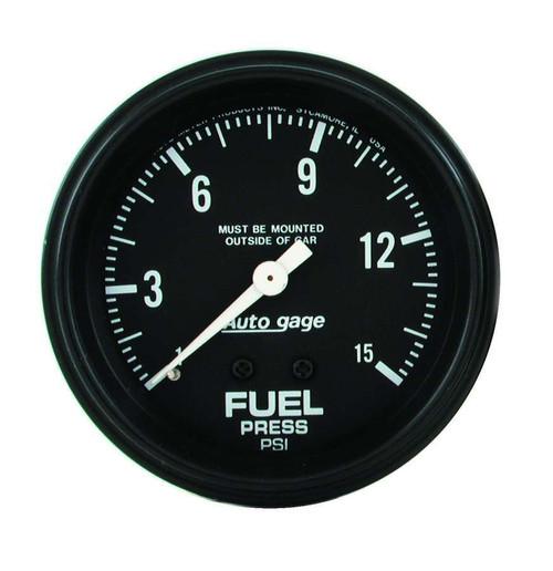 0-15 Fuel Pressure A/Gag