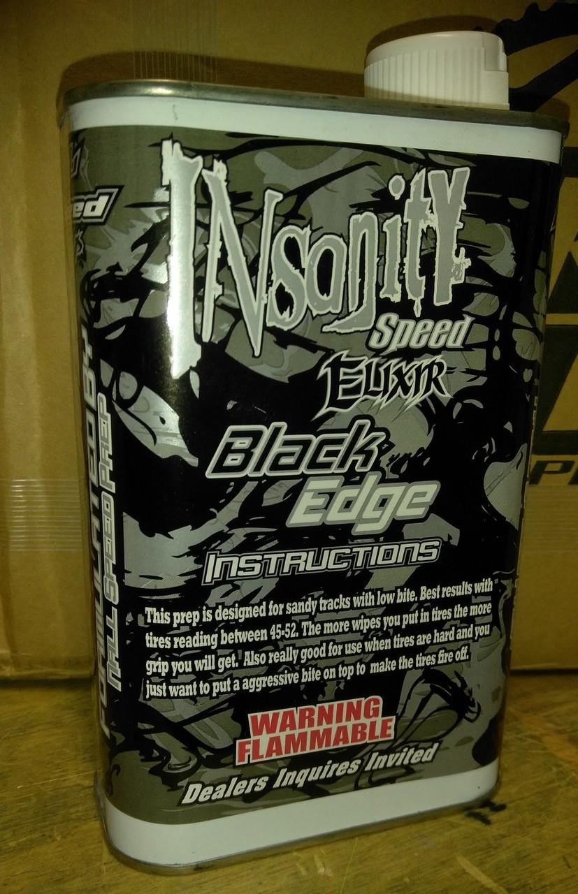 Nall Insanity Black Edge Speed Prep - Quart