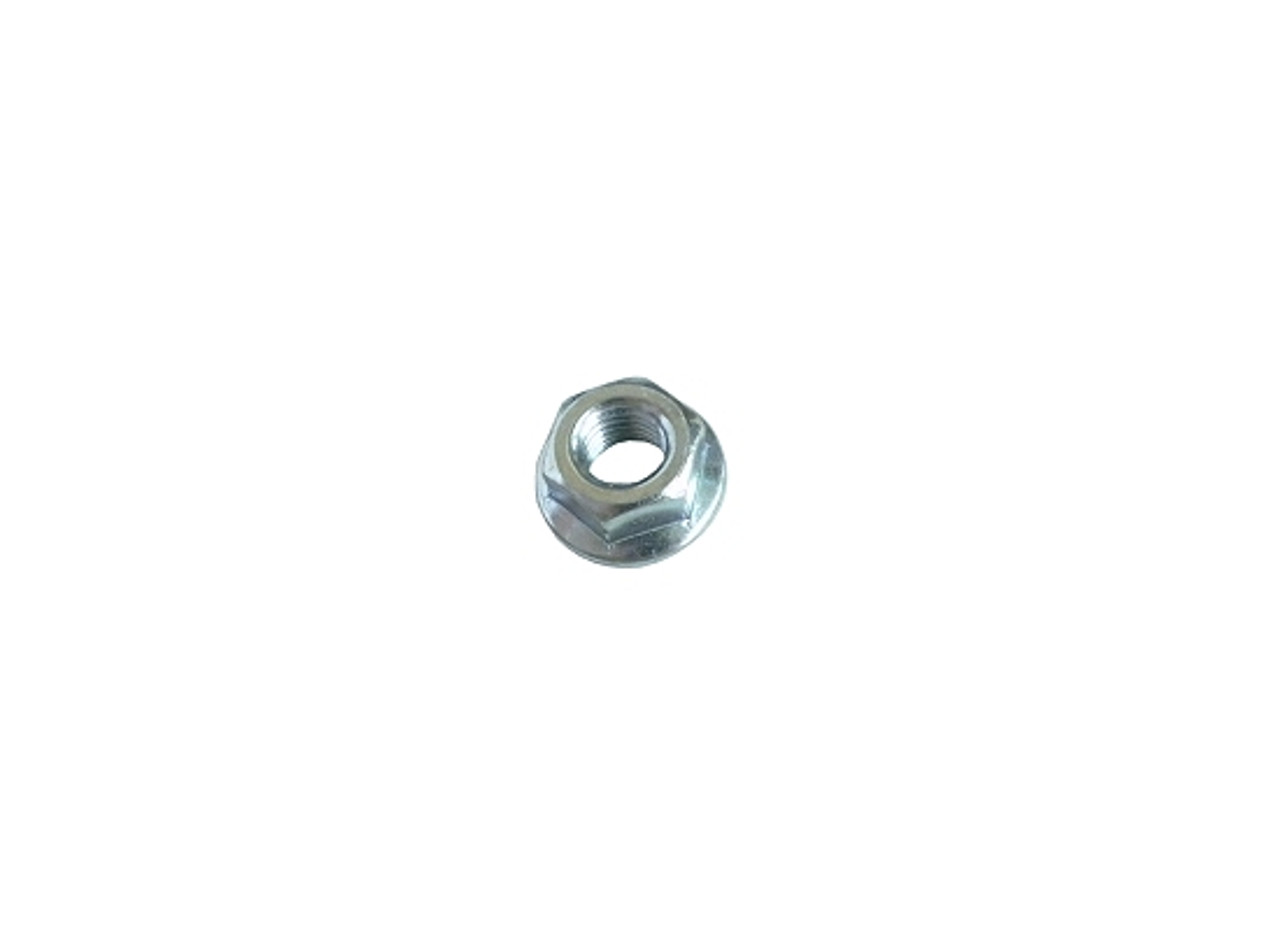"""1/4"""" Flanged nut, smooth - qty 12"""