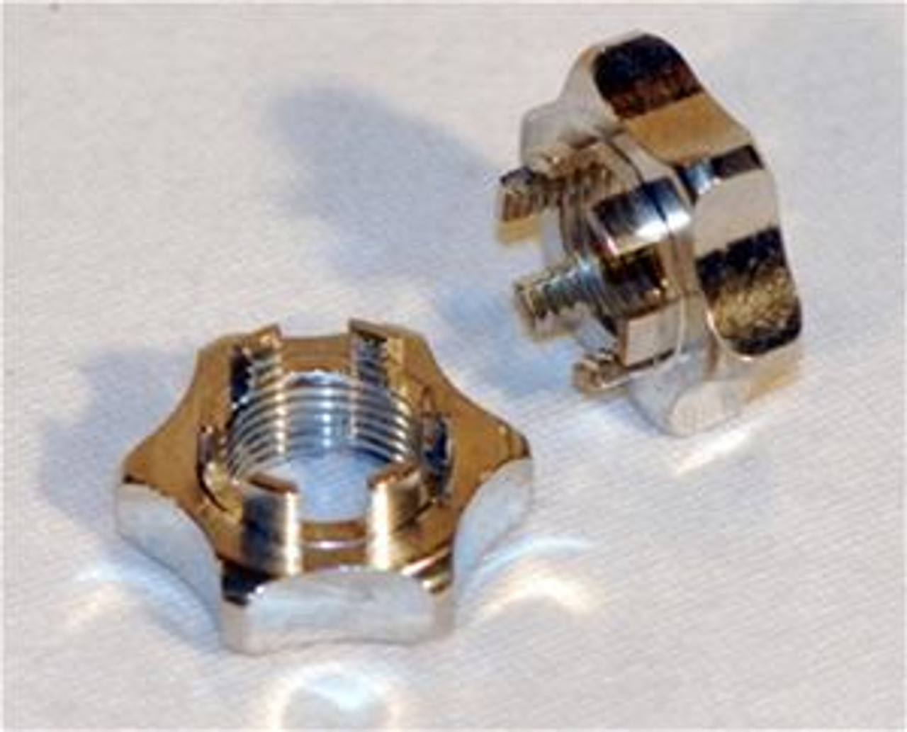 ALUMINUM SPINDLE NUTS (2)