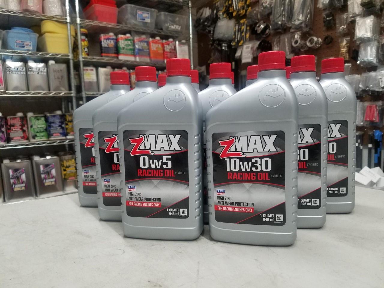 zMAX 20w50 Racing Oil - 12 qt Case