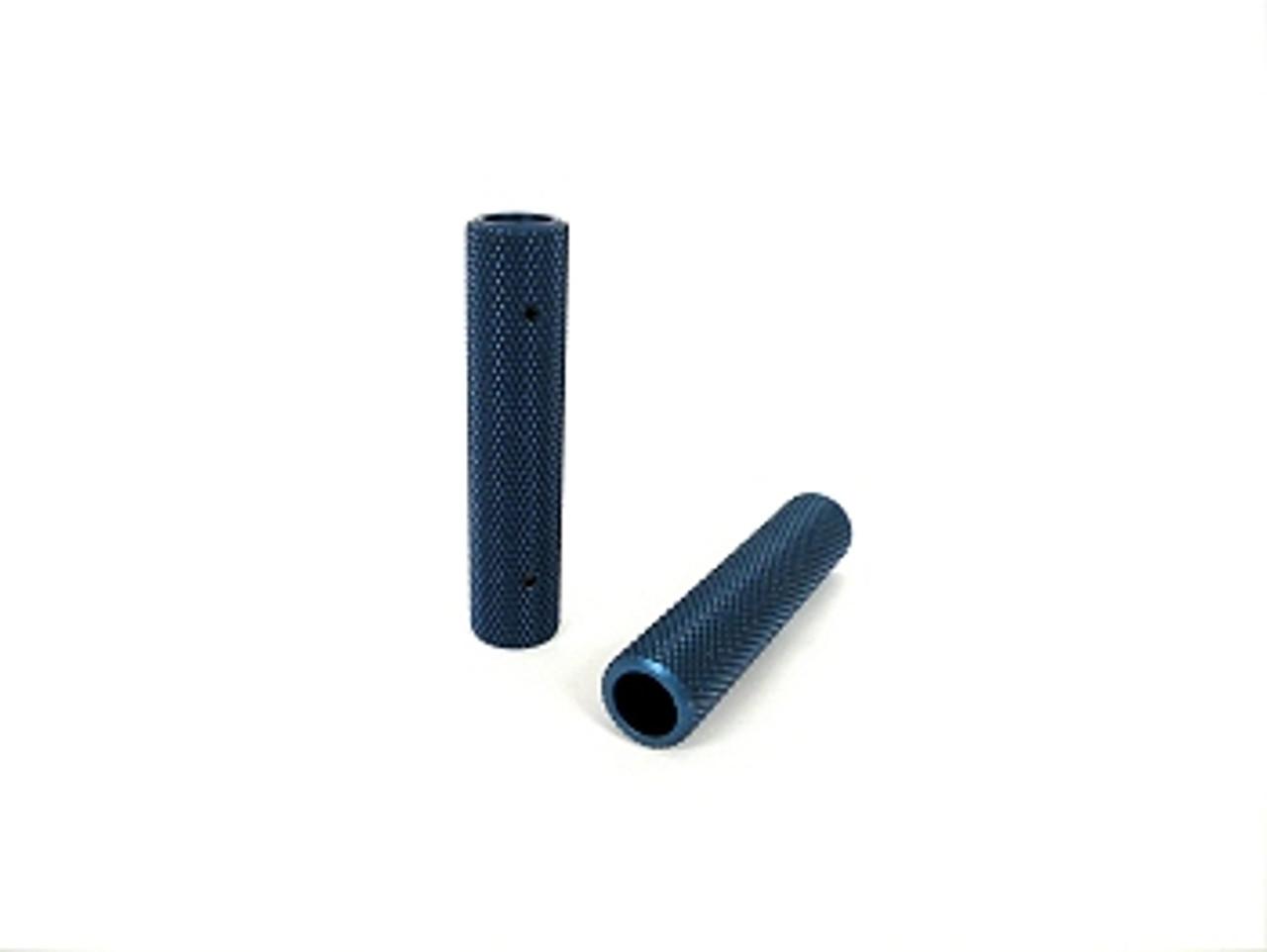 "1/2"" Aluminum Pedal Grips pair (Blue)"