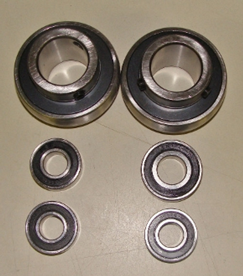 Large OD Rear CERAMIC Bearing and Front set