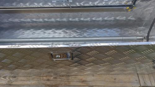 Single Roller Heat Strip Hot Box w/ Pan
