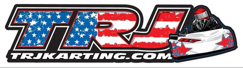 "18"" TRJ Karting USA Decal"