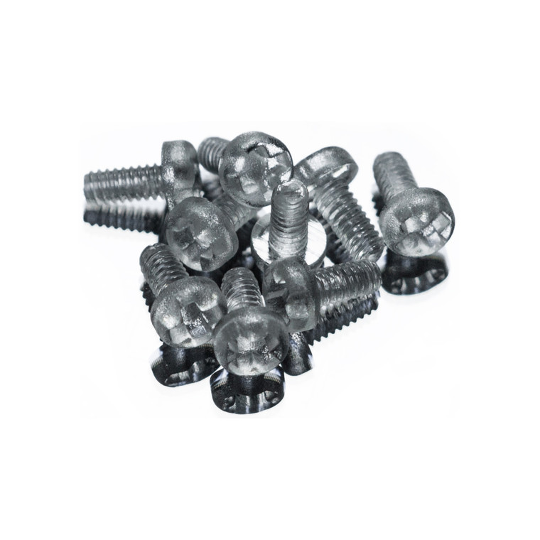Polycarbonate Phillips Round Pan Screw