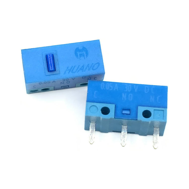 Huano Blue Shell Blue Dot Mouse Micro Switch