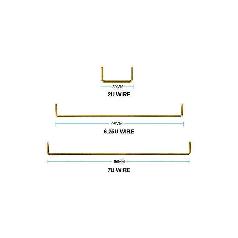 Gold-Plated Stabilizer Wire
