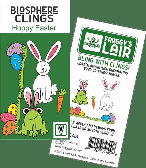 Biosphere Clings - Hoppy Easter (pack of 6)