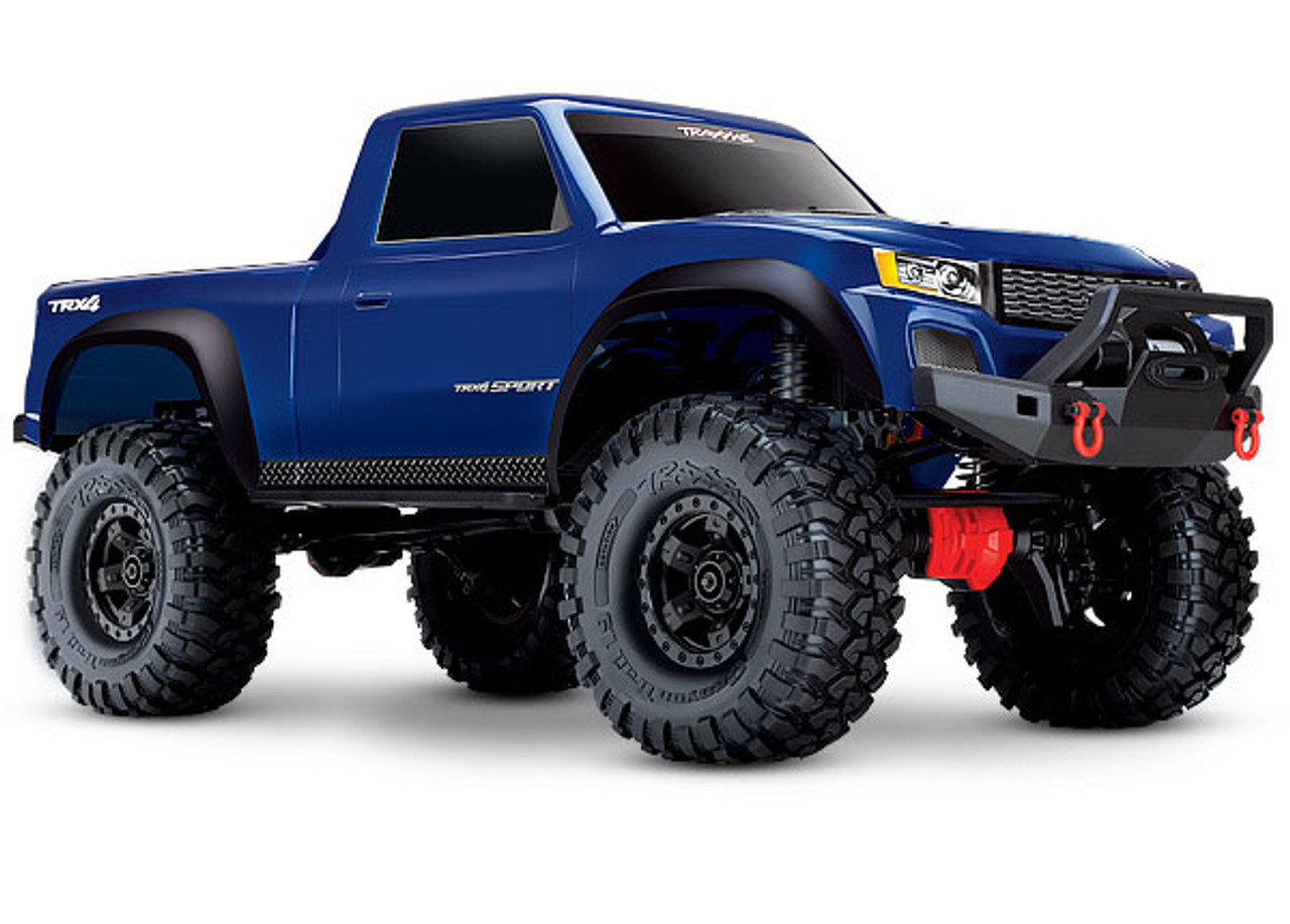 82024-4 - TRX-4® Sport: 1/10 Scale 4WD Electric Truck. Ready-to-Race® with TQ 2.4GHz Radio System, XL-5 HV ESC (fwd/rev), and Titan® 550 motor.