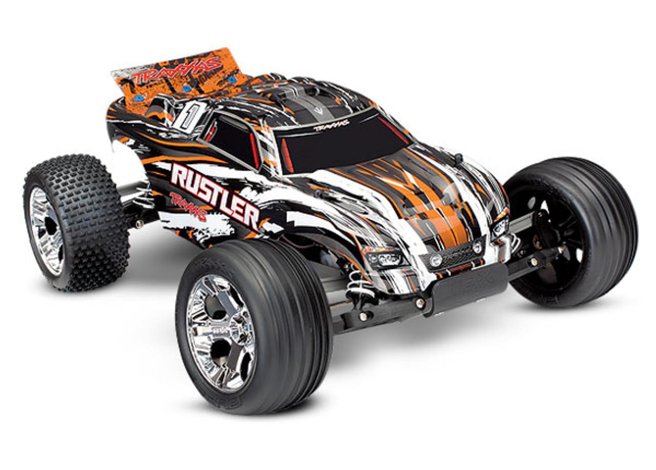 Rustler 4X2 Brushed Motor 1/10 Scale w/Battery