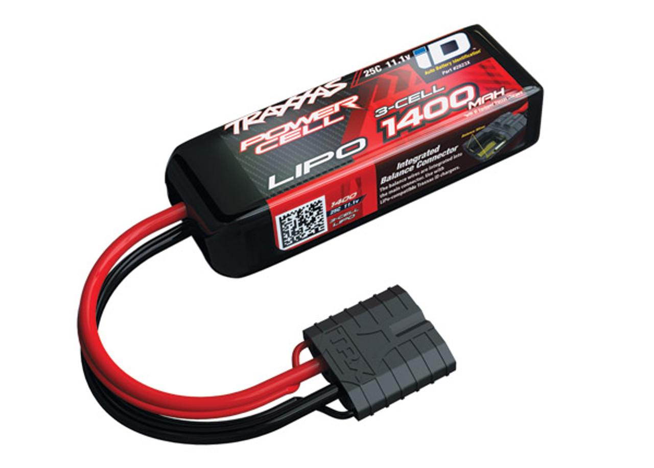 2823X - 1400mAh 11.1v 3-Cell 25C LiPo Battery