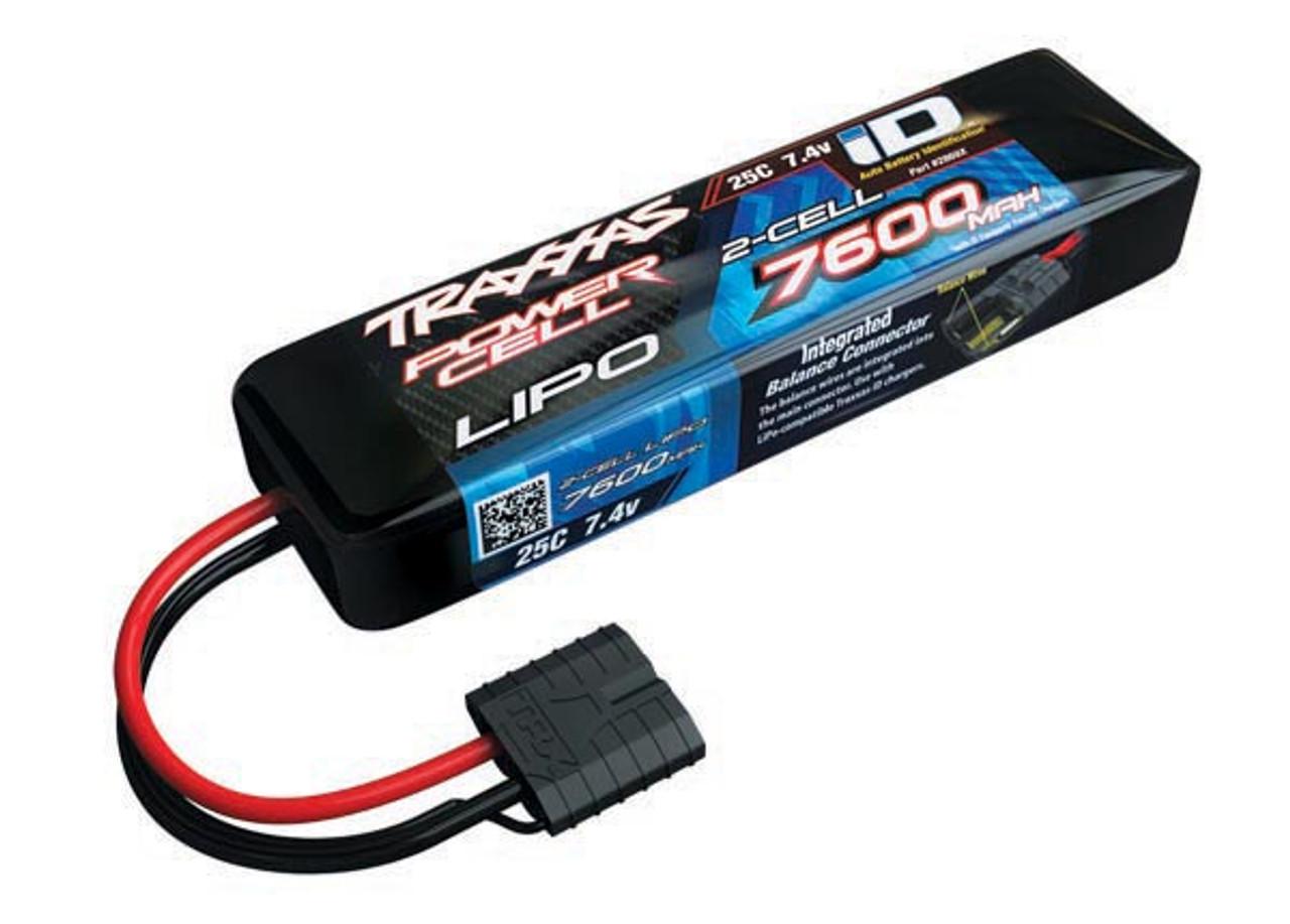 2869X - 7600mAh 7.4v 2-Cell 25C LiPo Battery