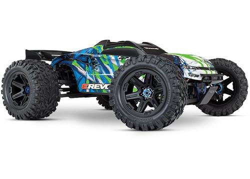 E-Revo 4x4 VXL-Brushless Motor 1/10 Scale w/o Battery