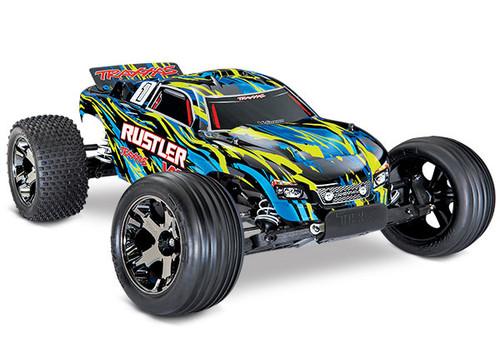 Rustler 4X2 VXL-Brushless Motor 1/10 scale w/o Battery
