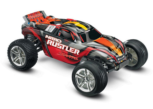 Rustler 4X2 Nitro 1/10 Scale w/o Battery