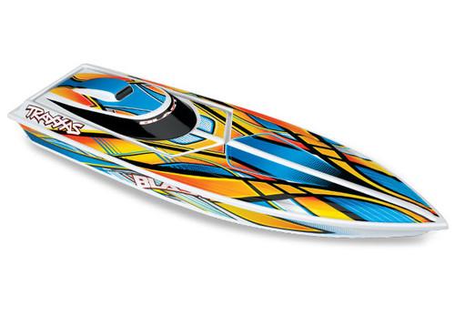 """Blast Race Boat Brushed Motor 24"""" w/ Battery"""