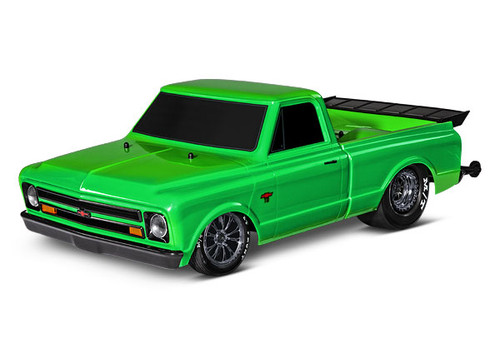 Drag Slash: 1/10 Scale 2WD Drag Racing Truck. Ready-to-Race® w/o Battery