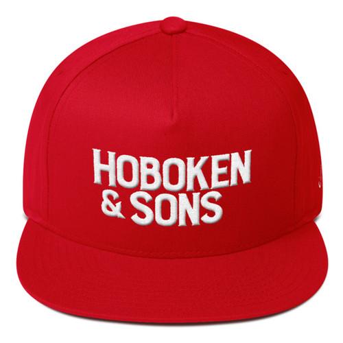 Hoboken & Sons Logo Hook Snapback Cap