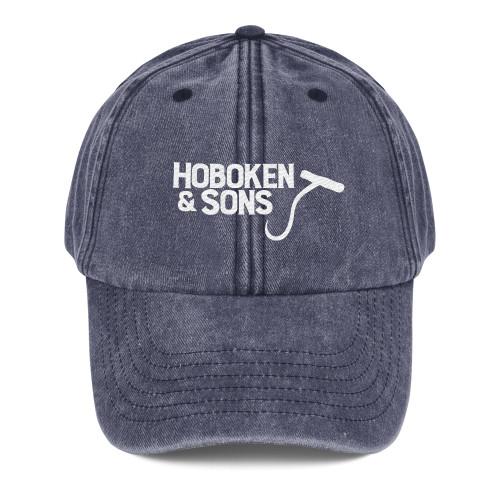 Hoboken & Sons Hook Logo Vintage Cap