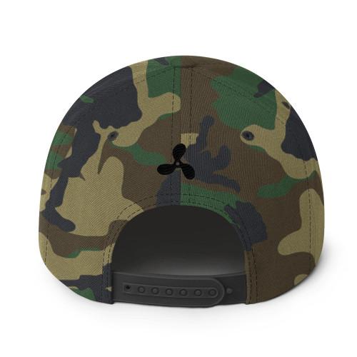 Hoboken & Sons Props Camo Snapback Hat