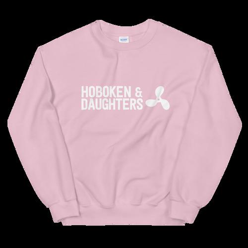 Hoboken & Daughters Propellor Logo Unisex Crew Neck Sweatshirt