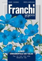 Flax ornamental Sky blue (A) Linum usitatissimum DESF