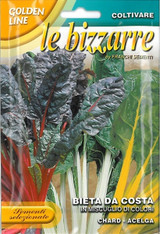 Mixed Colour Swiss Chard Also Ideal for Indoor Gardening Systems
