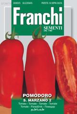 Tomato San Marzano Naples (A) Solanum Lycopersicum L.