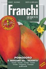 Giant San Marzano Tomato 'Redorta' (A) Solanum Lycopersicum L.