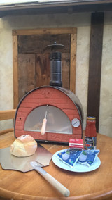 Pizza Oven/Smoker Small Portable 29kg For Balconies, Yards, Gardens.