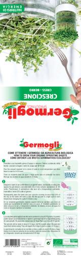 Organic Sprouting Cress Seeds 30g