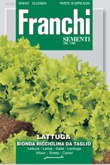 Franchi Seeds of Italy Lettuce Mix Bis  Bionda E Rossa Ricciolina da Taglio