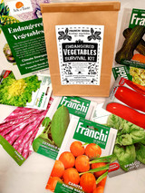 Endangered Vegetables survival kit