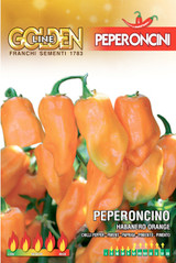 Chilli pepper Habanero Orange (A) Capsicum Chinense