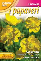 Poppy Naudicale Lemon yellow