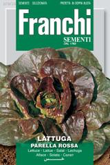 Lettuce Parella Rossa/Rouge De Montepelier