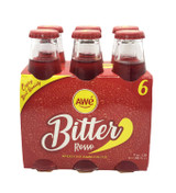 AWE BITTER ROSSO DRINK 6 X 180ML (Saturday collection only)