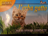 Cat Grass Kit with seed tray - simply add water