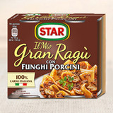 Star Gran Ragu' Pasta Sauce Porcini Mushroom 2 x 180g