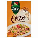 Gallo Orzo Pearl Barley 400g Precooked