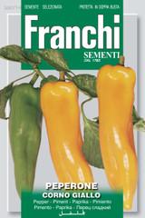 Pepper Corno Giallo (A) Capsicum annuum L.