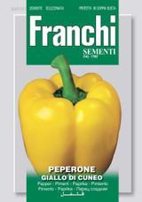 Pepper Giallo Di Cuneo (A) Capsicum annuum L.