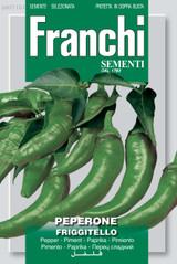 Pepper Friggitello Friariello (A) Capsicum annuum L.